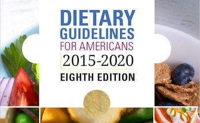 Dietary Guidelines pamphlet